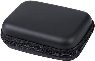 حقيبة وحافظة بطاقات التخزين بلاستيك - لون اسود