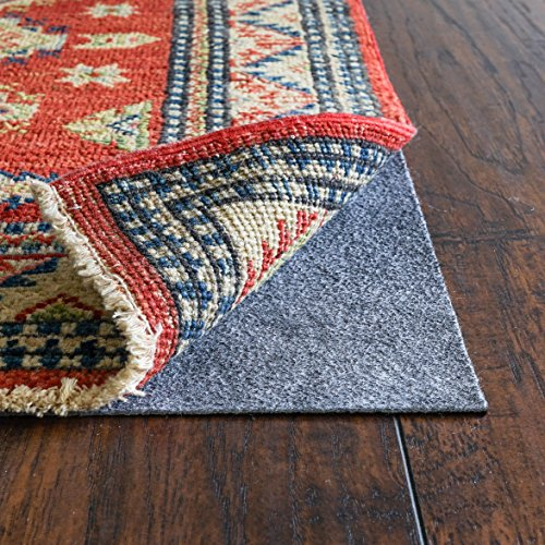 """RUGPADUSA, RugPro, 11'x13', 1/16"""" Thick, Felt and Rubber, Ultra Slim Non-Slip Rug Pad, Perfect for High Traffic Areas and Entryways, Many Custom Sizes"""