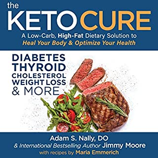 The Keto Cure audiobook cover art