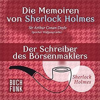 Der Schreiber des Börsenmaklers (Die Abenteuer von Sherlock Holmes) Titelbild