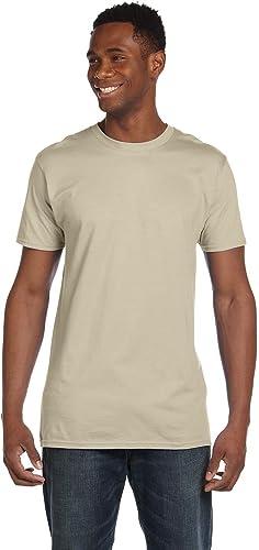 4980 T-Shirt Nano 2 Pack pour Hommes 1 Noir + 1 Sable XL