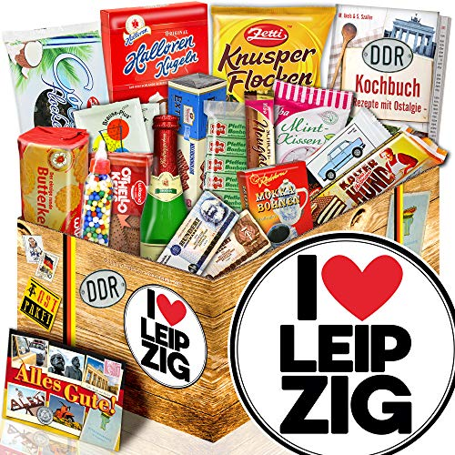I love Leipzig / Geschenk Süß DDR / Geschenk Leipzig