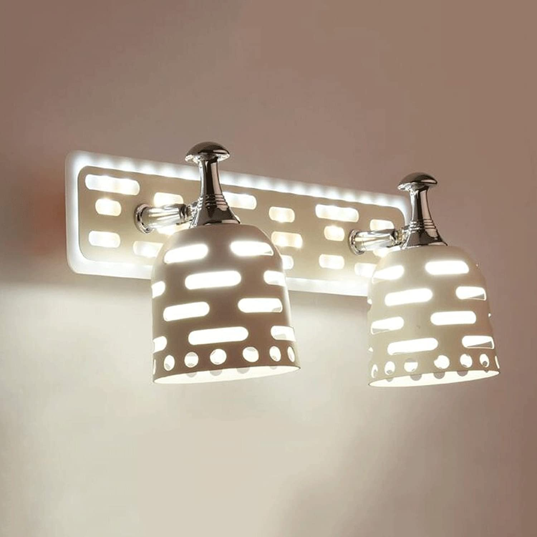 SUN LL Spiegellampe Mit Moderner Wandlampe (Farbe   Warm Weiß B-14w32.5 Cm)