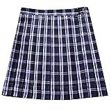 QIYUN.Z Las Mujeres Del Campus De La Niña Estilo JK Uniformes Escolares Plaid Uniformes Faldas Plisadas