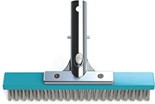 Bayrol cepillo de limpieza 25 cm. con cerdas de acero inoxidable antialgas piscina
