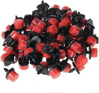 50 piezas de plástico ajustable de micro riego