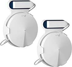 STANSTAR Wall Mount for TP-Link Deco M9 Plus Home Mesh WiFi System, Sturdy Brackets, Easy Moved, Space Saving,Without Messy Wires and Screws(3 Pack)
