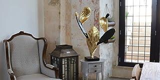 Pala Oronero scultura moderna realizzata interamente a mano natura pianta complemento d'arredo decorazione d'interni desig...