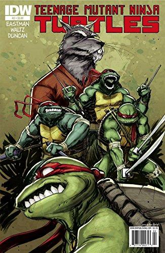 Amazon Com Teenage Mutant Ninja Turtles 2 Ebook Eastman Kevin B Waltz Tom Duncan Dan Kindle Store
