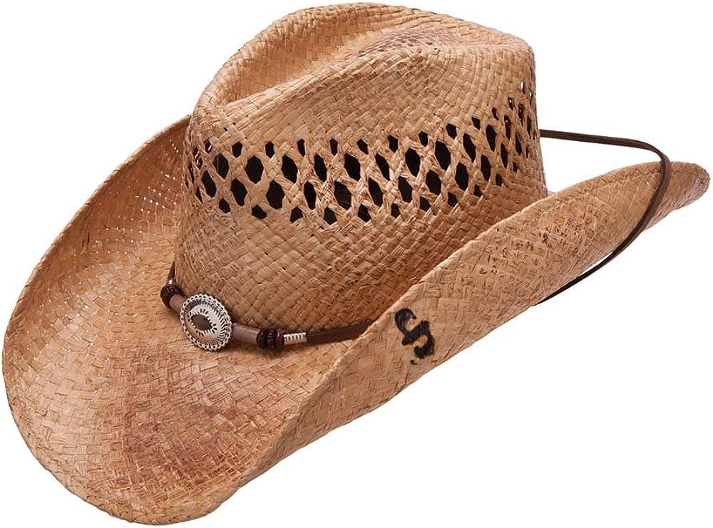 Houston Mall Deluxe Stetson Stoney Creek Straw Hat