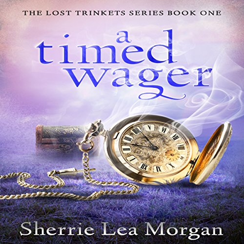 A Timed Wager audiobook cover art