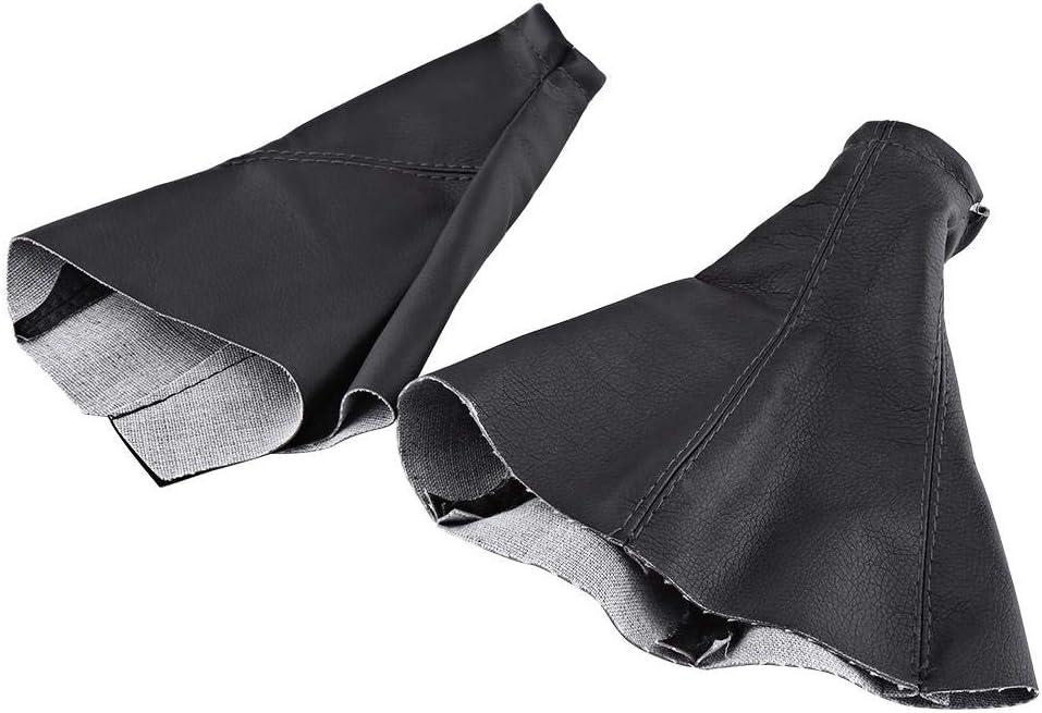 Car Shift Knob Set Gear PU Free Shipping Cheap Bargain Gift Rapid rise Boot Stick Leather Gaiter