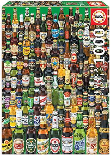 Educa - Cervezas Puzzle, 1000 Piezas, Multicolor (12736)