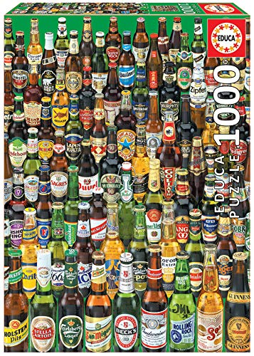 Educa Birre. Puzzle per Adulti. 1.000 Pezzi. RIF. 12736, Colore Various, EB12736