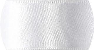 Fitas Progresso CF005-201 Fita de Cetim, 22 mm, 10 m, Branco