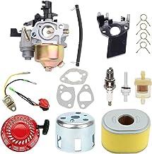 Highmoor GX160 GX200 Carburetor for Honda GX140 GX 160 GX168 GX 200 5HP 5.5HP 6.5HP Engine WP30X Water Pump Pressure + Rec...