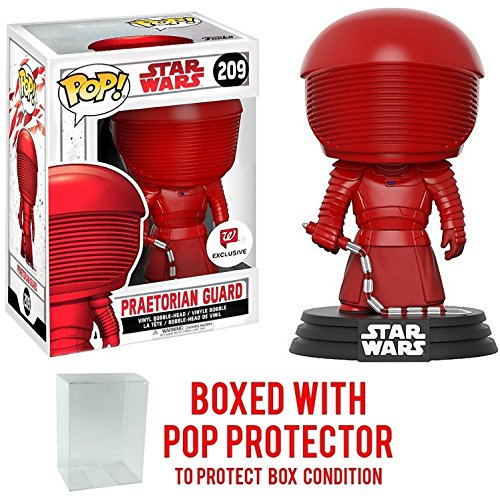 Funko Pop! Star Wars: The Last Jedi - Praetorian Guard with Whip #209 (Walgreens Exclusive) Vinyl Figure (Bundled with Pop BOX PROTECTOR CASE) image