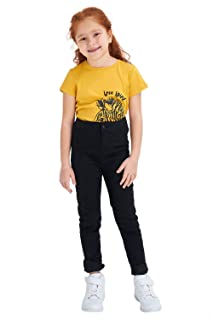 DeFacto Slim-Fit High Waist Pants for Girls
