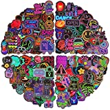 200 Pieces Neon Stickers Cool Teen Stickers...