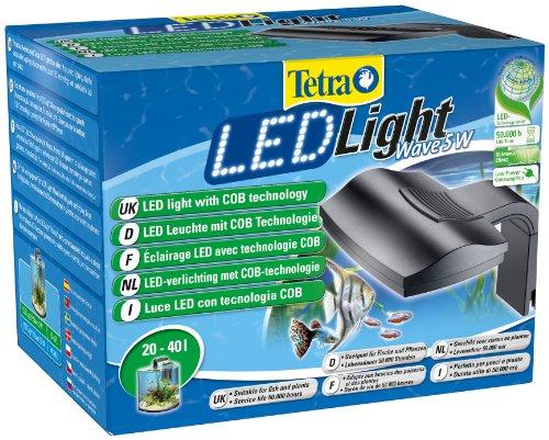 Tetra LED Light Wave lamp 5 Watt (LED-verlichting met COB-technologie, bijzonder geschikt voor Tetra AquaArt Explorer Line Aquaria, 5.0 W, 5,0 W.