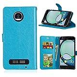 YYhin pour Coque Motorola Moto Z Play,Etui en Cuir pour téléphone Portable, Etui à Rabat en Cuir...