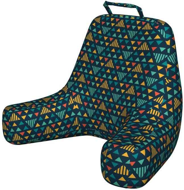 Ambesonne Geometric Reading Cushion Pocket Sale All items in the store with Illustrati Back
