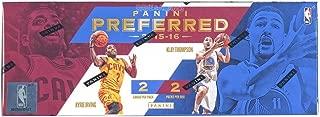 2015-16 Panini Preferred Basketball Hobby Box