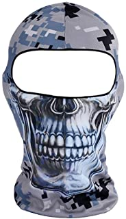 Winter Breathable Hat Thin 3D Skull Balaclava Ski Riding Fishing Motorcycle Face Mask