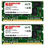 Digiwaycity 2 GB (2 x 1GB) DDR 333MHz PC2700 (200 Pin) sodimm Laptop-geheugen