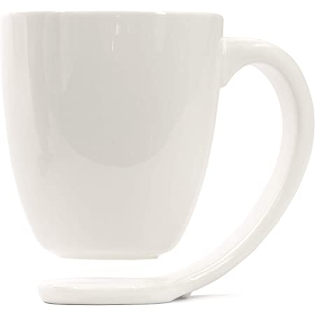 Plain White Porcelain Mug and Handle Best Gift Ideas For Coffee And Tea