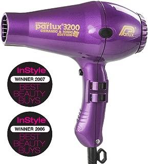 Parlux 3200 Ceramic & Ionic Dryer 1900W, Purple, 820 g