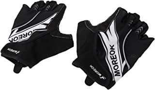 Baoblaze Breathable Cycling Gloves Mountain Bike Gloves Shockproof Anti- Slip Gel Pad Biking Gloves Half Finger Bicycle Gl...