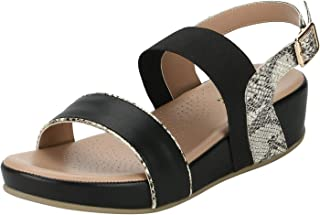Mode By Red Tape Women's Mrl1251 Fashion Sandals