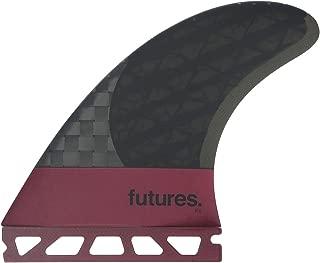 Future Fins F8 Vector II Blackstix 3.0 V2F8 Thruster Surfboard Fin Set Carbon Fiber