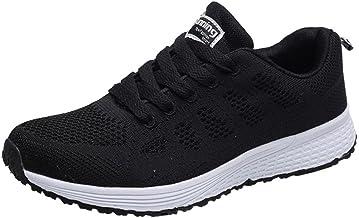 Zapatillas Respirable Deportes para Mujer, QinMM Running Sandalias Cómodos Transpirables Zapatos de Verano Merceditas