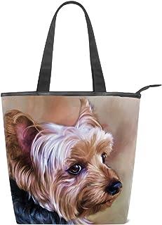 Dog Lover Gift Animal Lover Gift Make Up Bag Yorkie Wristlet Dog Pouch Vet Gift