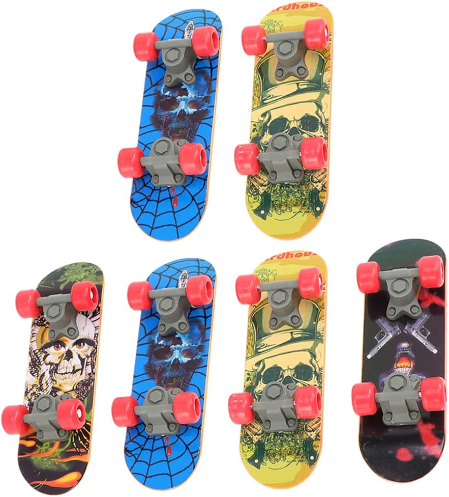 Max 86% OFF balacoo 6Pcs Finger Mini Bicycle Skateboards Sales