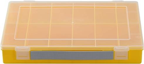 hünersdorff Assortimentsdoos: stabiele sorteerbox (PP-Classic) met vaste vakindeling (12 vakken), afmetingen sorteerkast: ...
