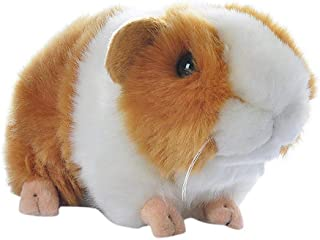 RemeeHi 7 Inch Brown Guineapig Guinea Pig Plush Toy Soft Cute Plush Toy Gift for Kids(Yellow & White)