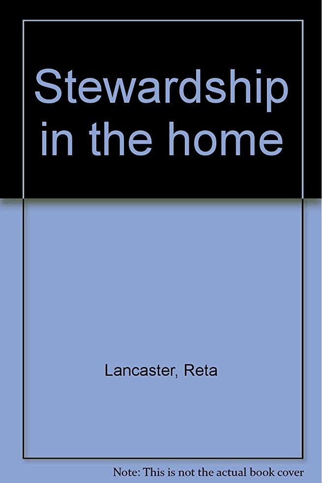 Stewardship in the home