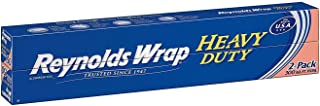"Reynolds Wrap 18"" Heavy Duty Aluminum Foil, 150 sq. ft (2 ct.) - (Original from manufacturer - Bulk Discount available)"