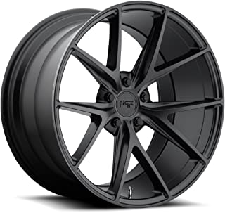 NICHE Misano BD -Matte BLK Wheel with Painted (18 x 7.5 inches /5 x 114 mm, 40 mm Offset)