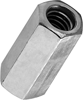 National Hardware N182-667 4003 Couplers - Course Thread in Zinc, 1/4
