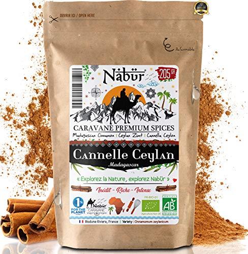Nabür - Cannelle de Ceylan Bio de Madagascar 200...