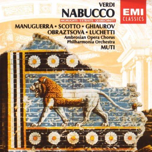 Riccardo Muti/Matteo Manuguerra/Renata Scotto/Nicolai Ghiaurov/Elena Obraztsova/Veriano Luchetti