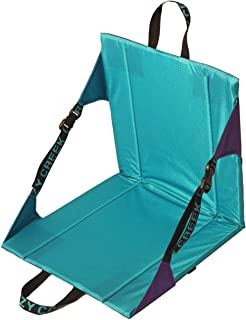 Crazy Creek Original Chair - The Original Lightweight Padded Folding Chair - Purple/Teal