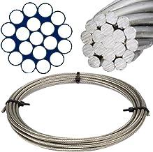 Barra de boots marr/ón 6 mm Conector//plint 5 unidades de acero inoxidable A4 Conector de resorte sencillo 2
