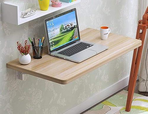 Sin impuestos Wghz Inicio Mesa de Parojo Simple Simple Simple Mesa Plegable Mesa de Comedor Mesa de Parojo Mesa de Parojo Mesa de Parojo Escritorio de computadora Mesa de Parojo (Color  Nogal, Tamaño  80  30 cm)  mejor precio