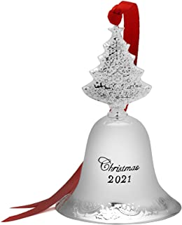 Wallace 27th Edition Silver Plated Grande Baroque Bell with Tree Finial, Tree