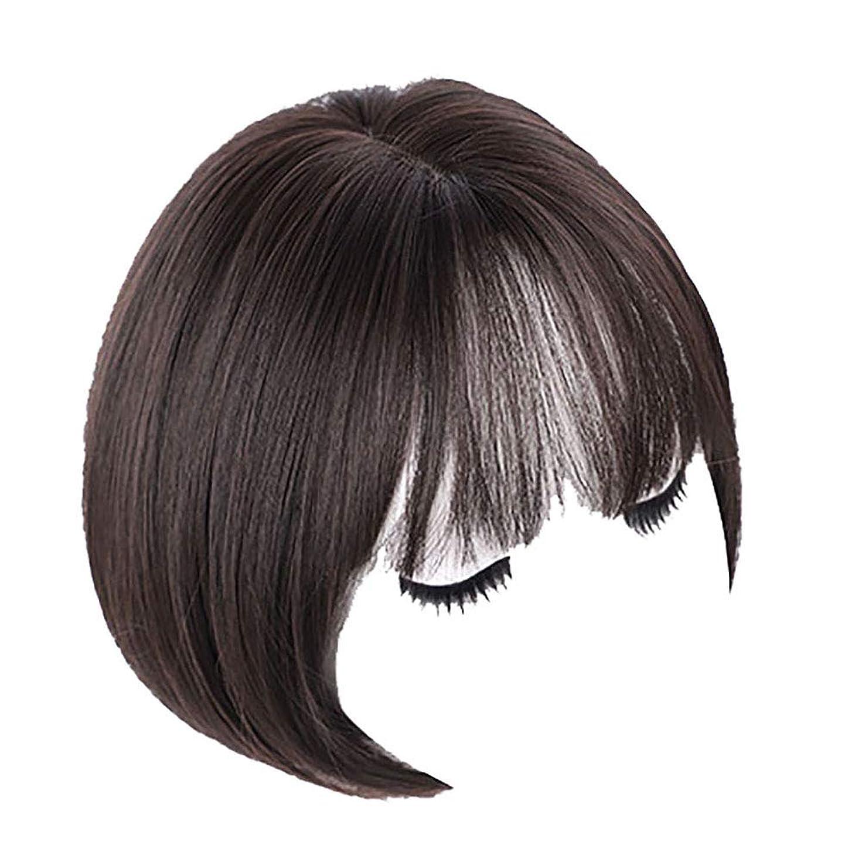 フィードオン不愉快マオリかつら女性の短い髪の丸い顔ハンサムな自然なふわふわの波の頭のバックル短い縮れた髪のフルヘッドドレス